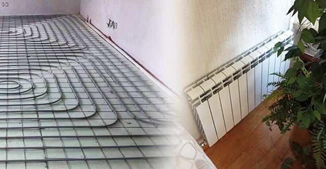 Calefacción hidrónica por piso radiante